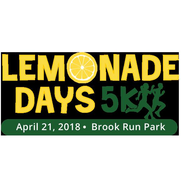 Lemonade Days 5K<br>April 21<br>Dunwoody, GA