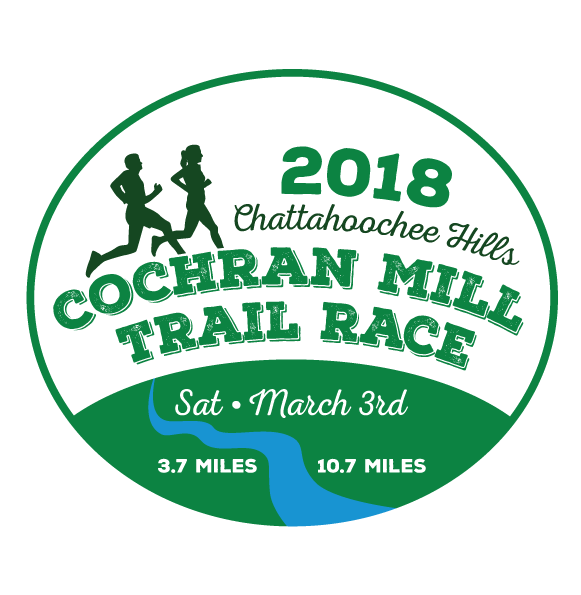 Cochran Mill Trail Race<br>SPRING - March 3, 2018<br>Palmetto, GA