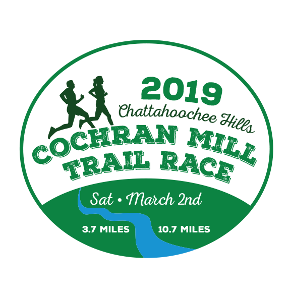 Cochran Mill Trail Race<br>SPRING - March 2, 2019<br>Palmetto, GA