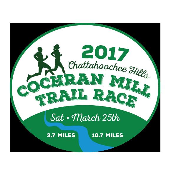 Cochran Mill Trail Race<br>March 25<br>Palmetto, GA